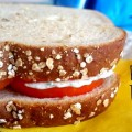 Tomato Sandwich with Dill Mayo