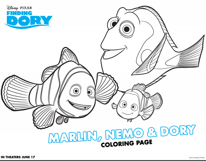 Finding Dory - Movie Review and Free Activity Sheets