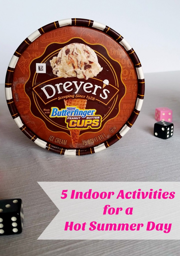 Five Indoor Activities for a Hot Summer Day #SweeterTogether