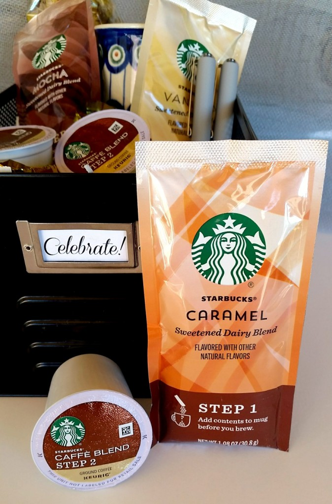 Gift basket idea for him. #StarbucksCaffeLatte, #MyStarbucksatHome ad