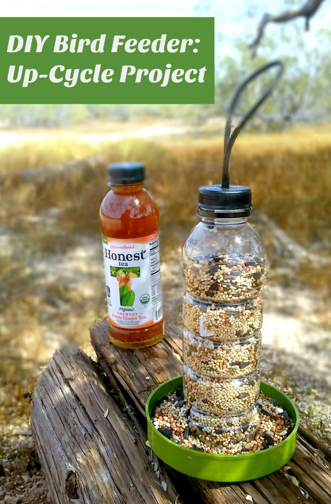 DIY Bird Feeder #HonestSustainabiliTEA #ad #RefreshinglyHonest