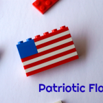 Patriotic Flag Pin Craft