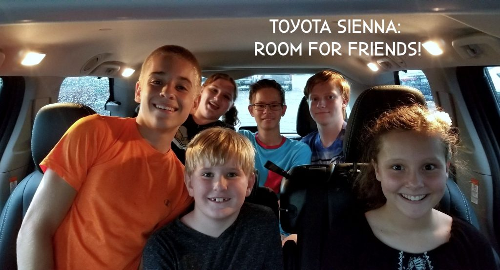 2018 toyota sienna not just for large families
