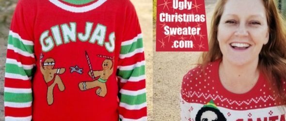 Fun and Ugly Christmas Sweaters (Plus a Giveaway!)